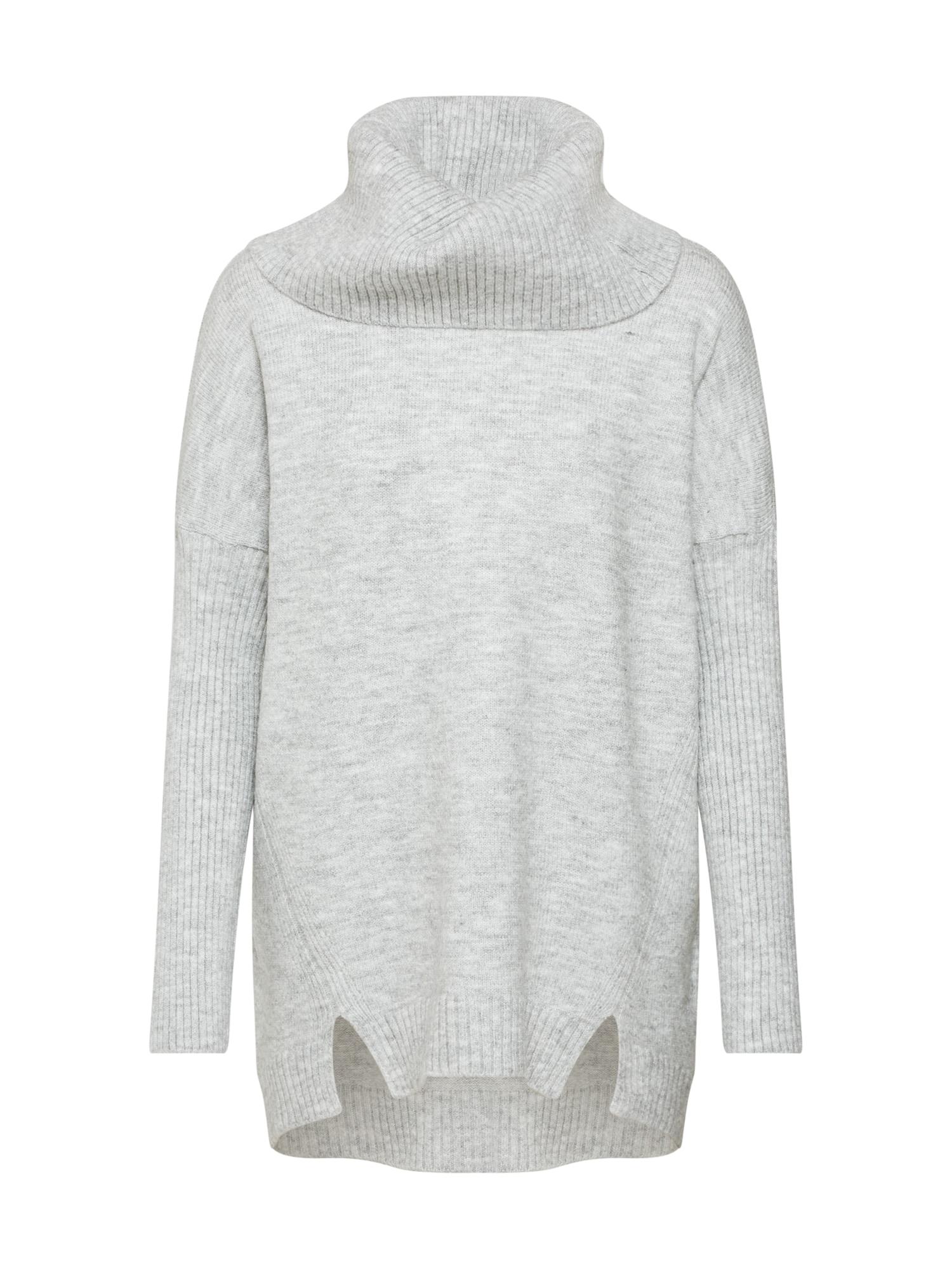ABOUT YOU Laisvas megztinis 'Franka' pilka