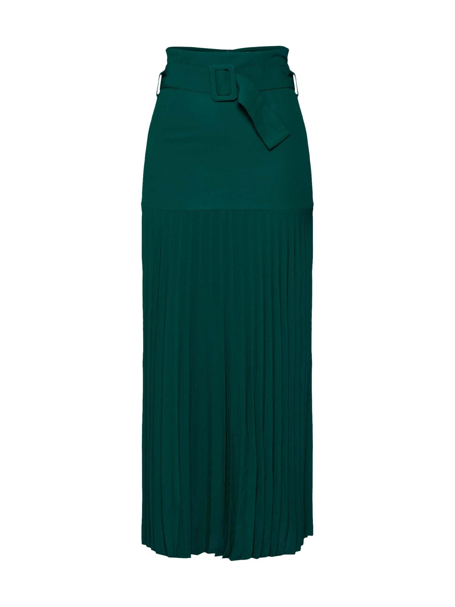 Bardot Sijonas smaragdinė spalva