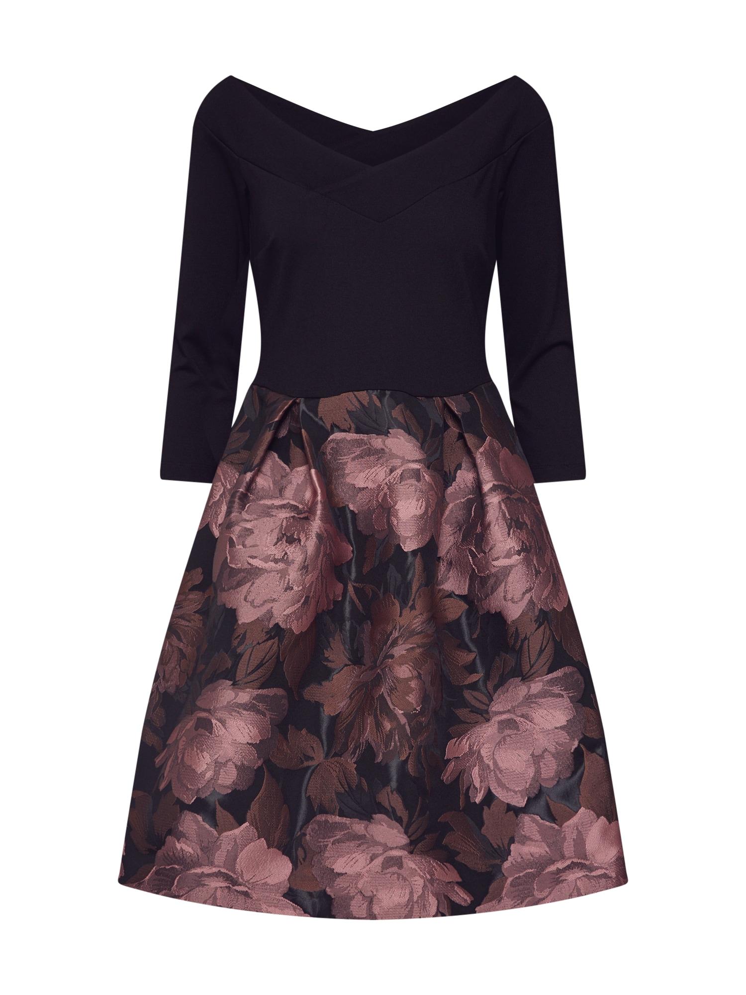 Šaty růžová černá Anna Field