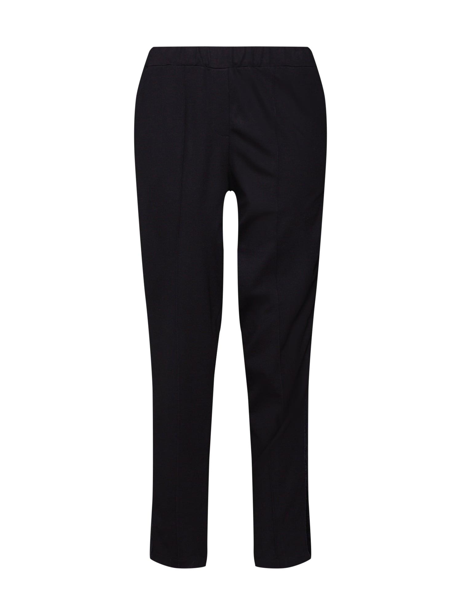 Kalhoty Pants with Velvetdetail černá Re.draft