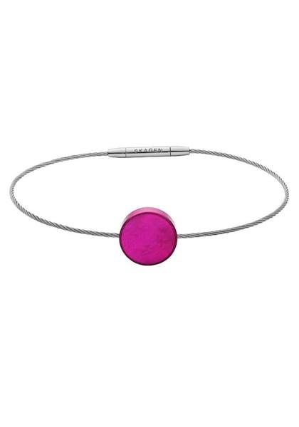 Armbaender - Armband › skagen › silbergrau neonpink  - Onlineshop ABOUT YOU