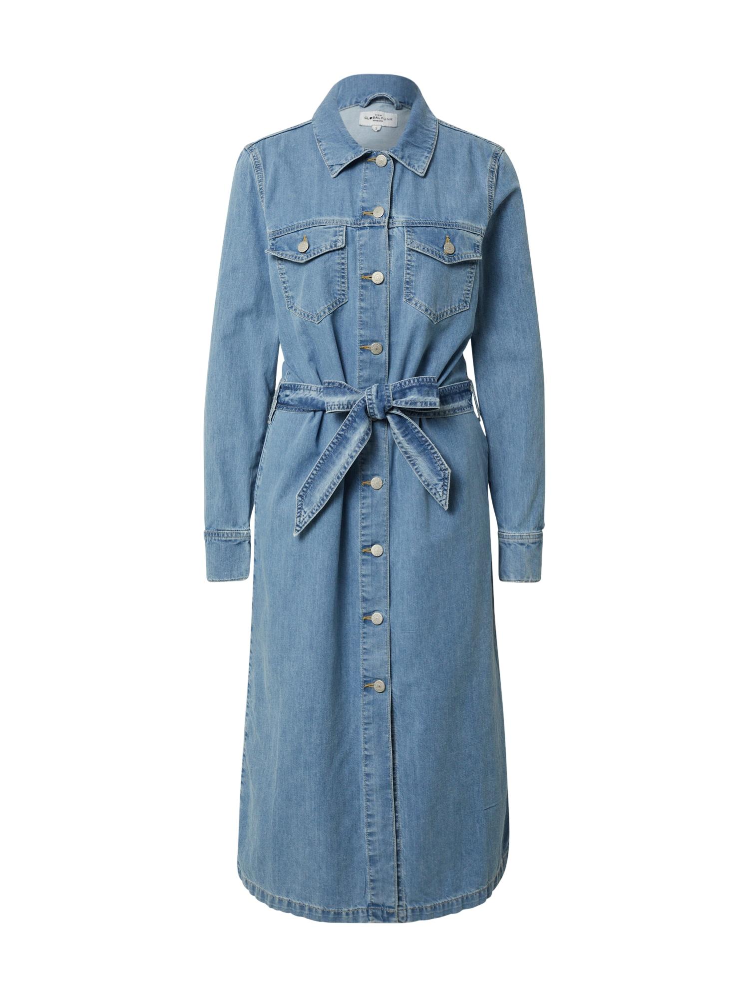 Global Funk Suknelė 'Elmira' mėlyna