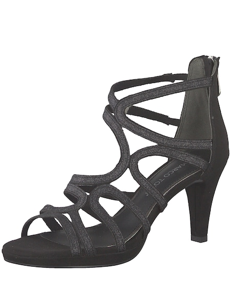 Highheels - Sandalette › marco tozzi › schwarz  - Onlineshop ABOUT YOU
