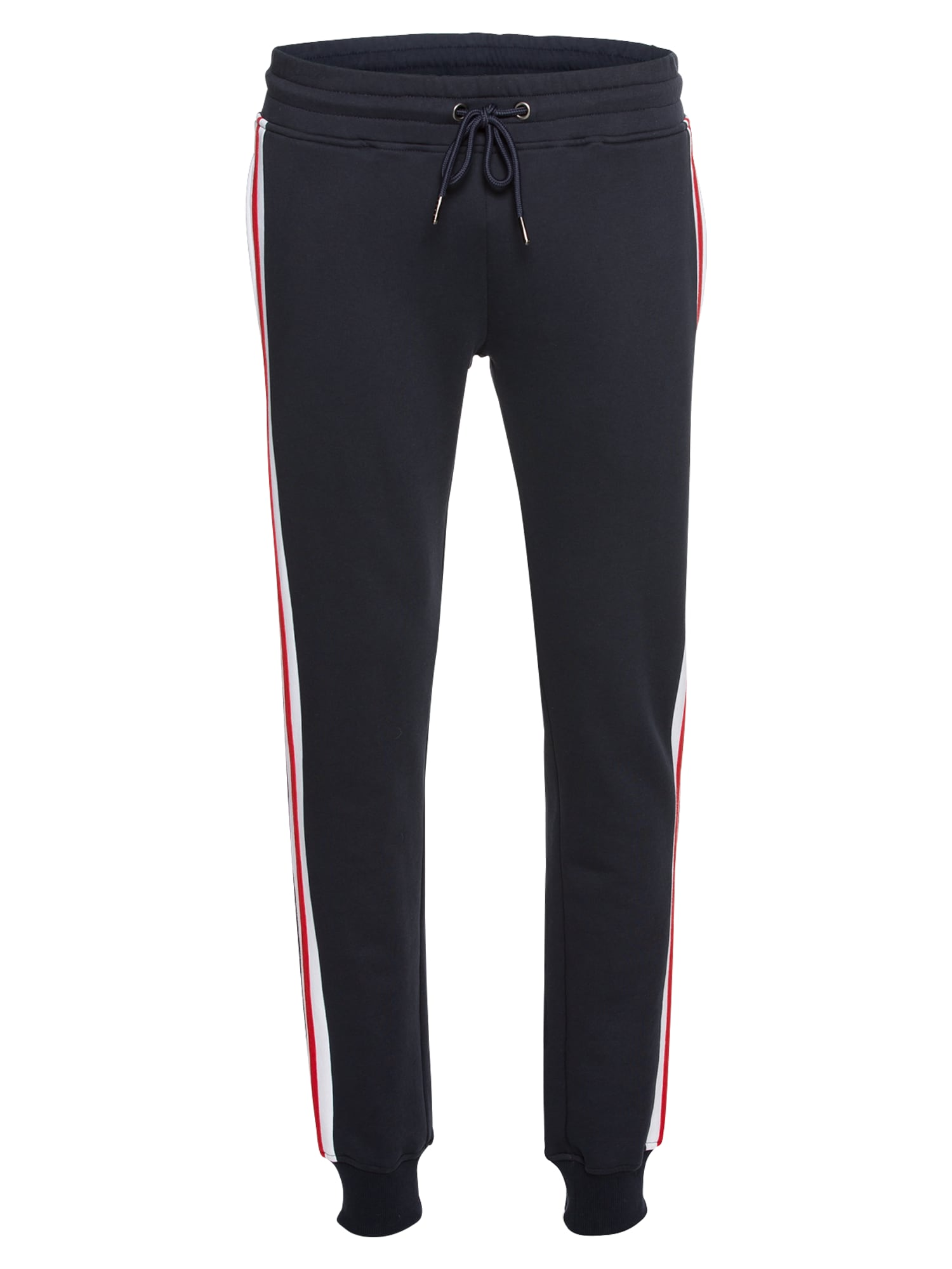 Urban Classics Kelnės tamsiai mėlyna / raudona / balta