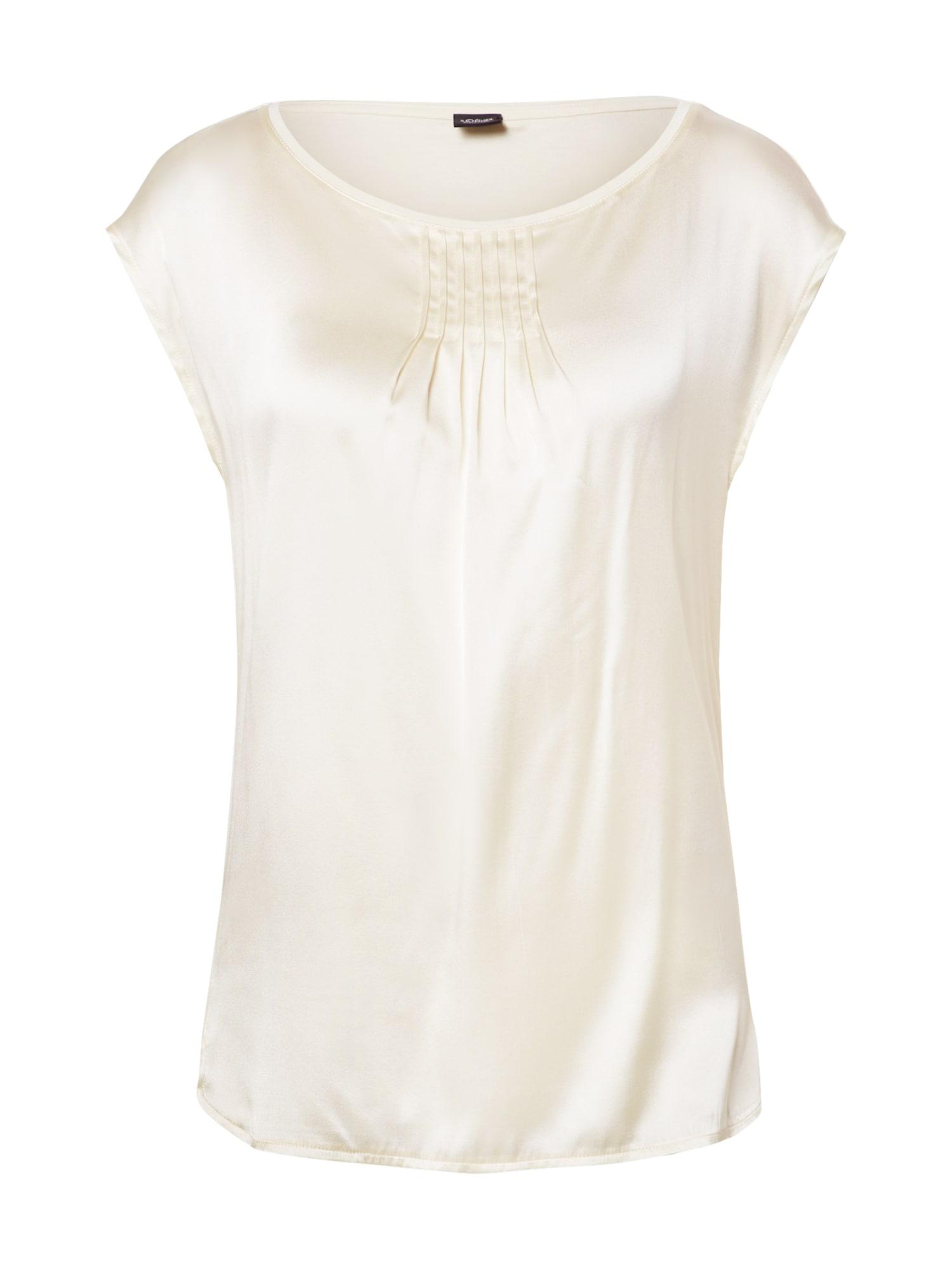 s.Oliver BLACK LABEL Marškinėliai balkšva