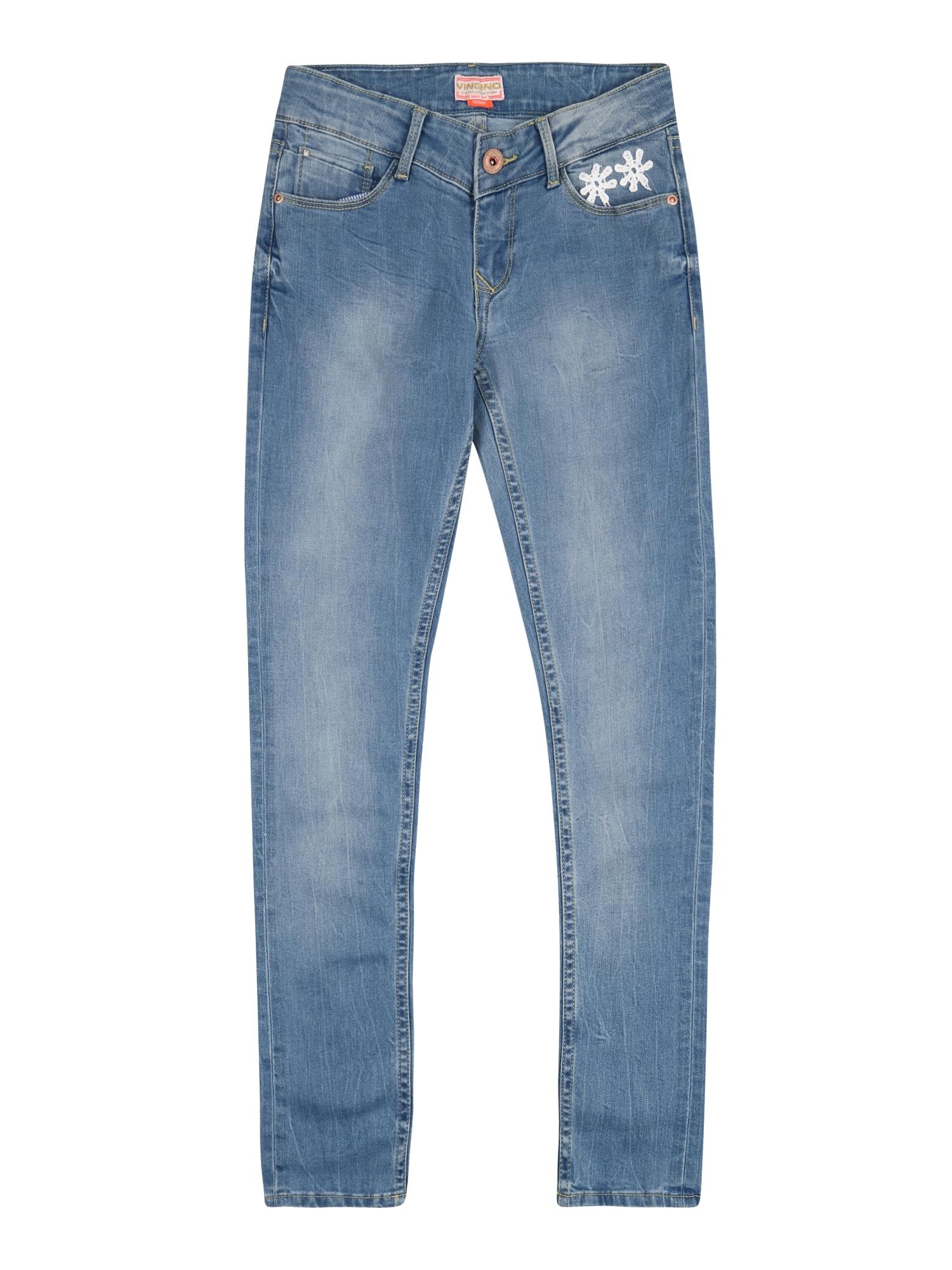VINGINO Džinsai 'Allegria' tamsiai (džinso) mėlyna
