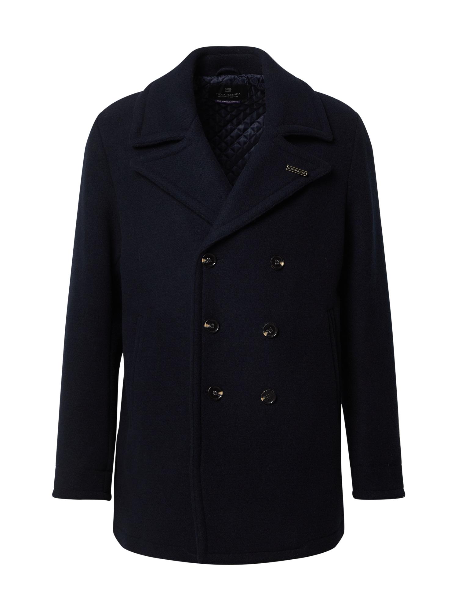 SCOTCH & SODA Demisezoninis paltas tamsiai mėlyna