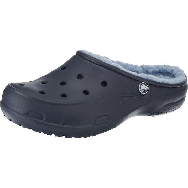 Clogs für Frauen - Crocs Clog 'Freesail PlushLined Pmgr RsD' navy  - Onlineshop ABOUT YOU