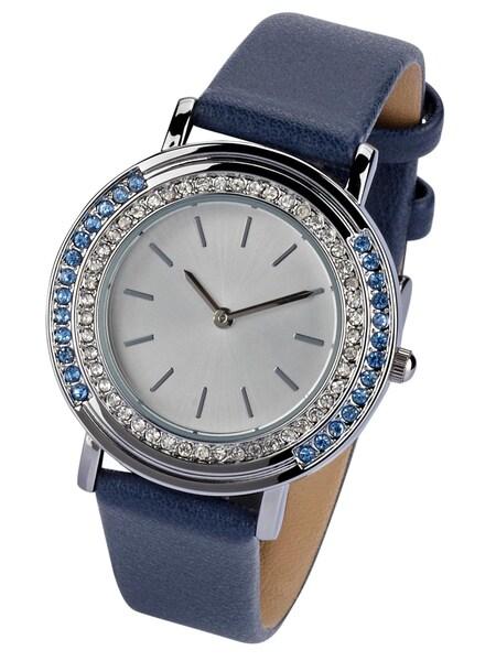 Uhren für Frauen - Heine Armbanduhr blau silber  - Onlineshop ABOUT YOU