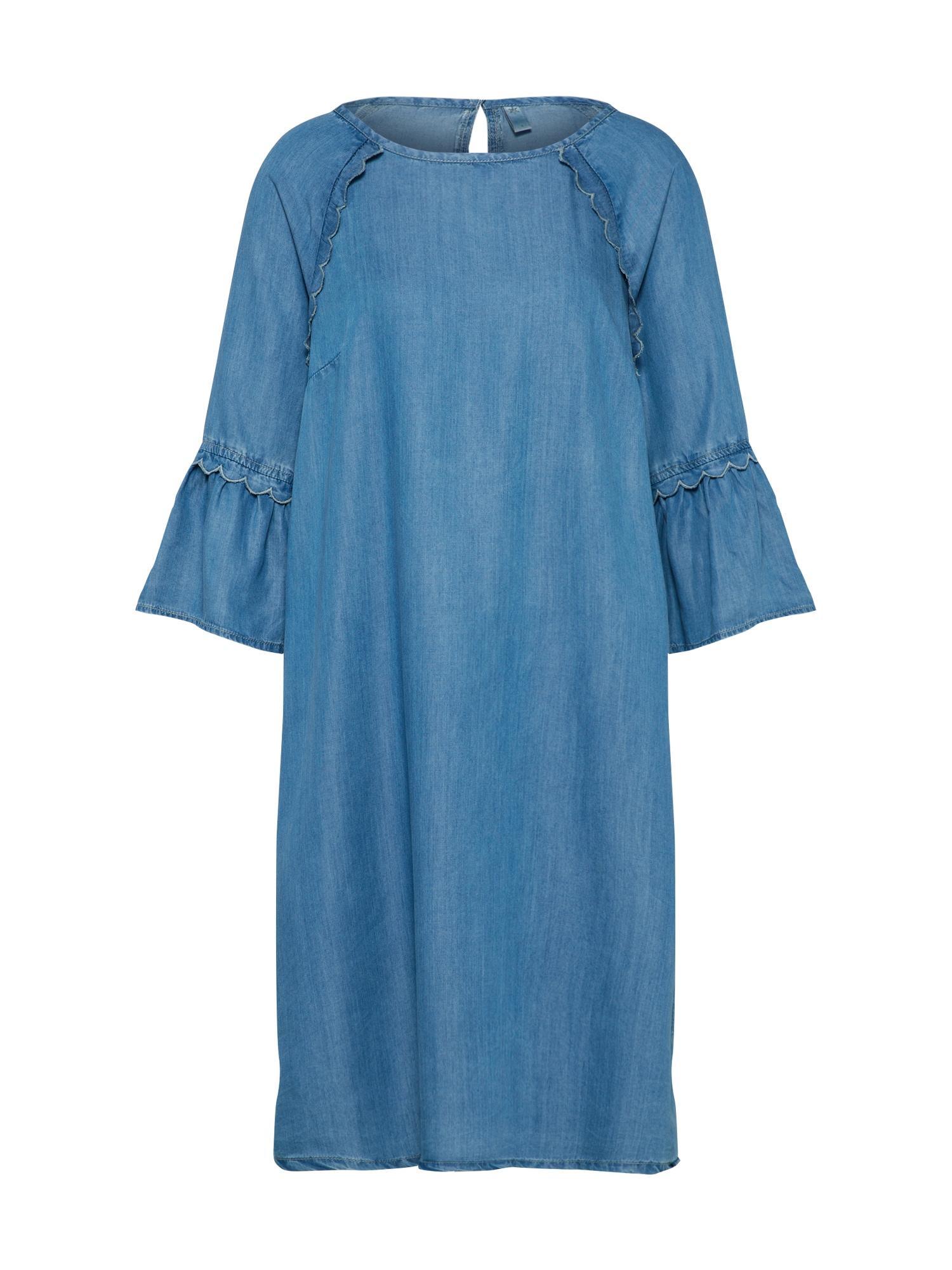 Šaty modrá džínovina CULTURE