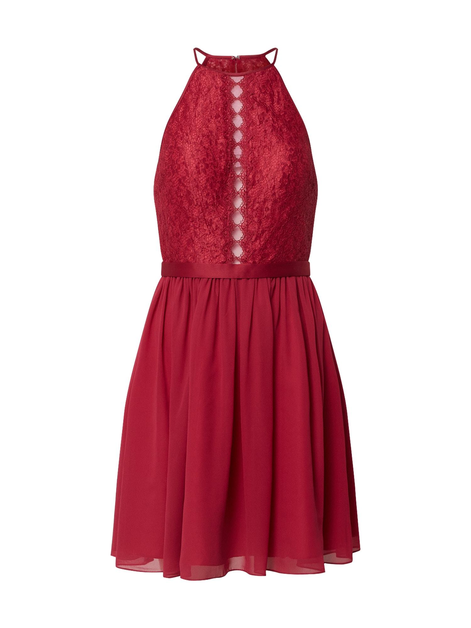 MAGIC NIGHTS Kokteilinė suknelė uogų spalva