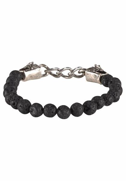 Armbaender für Frauen - J. Jayz Armband schwarz silber  - Onlineshop ABOUT YOU