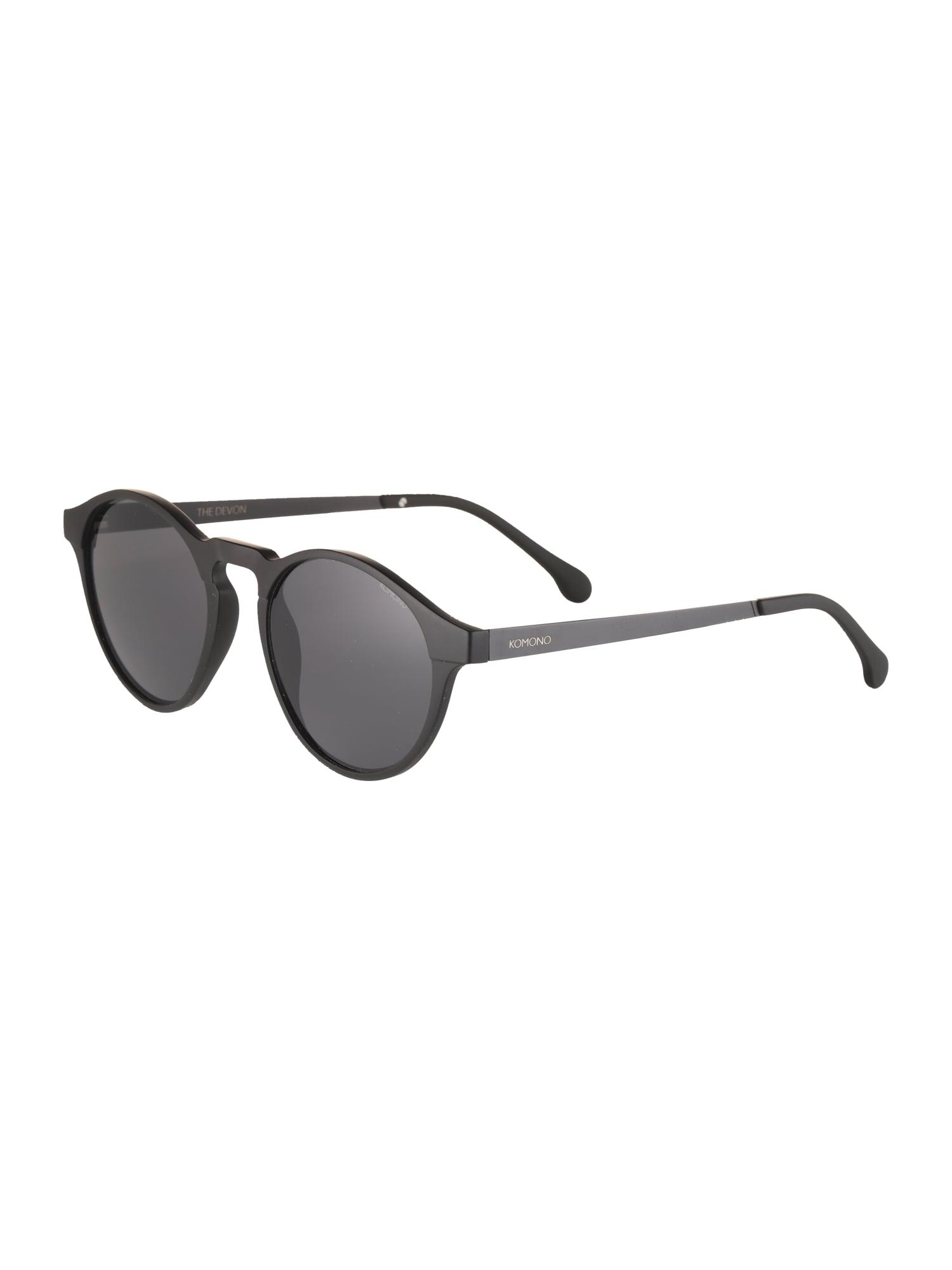 Sluneční brýle DEVON METAL černá Komono