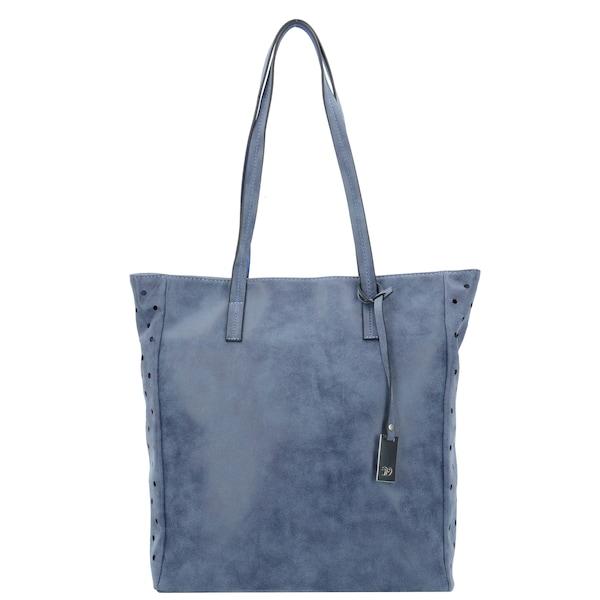 Shopper für Frauen - TOM TAILOR DENIM Jay Shopper Tasche 31 cm taubenblau  - Onlineshop ABOUT YOU