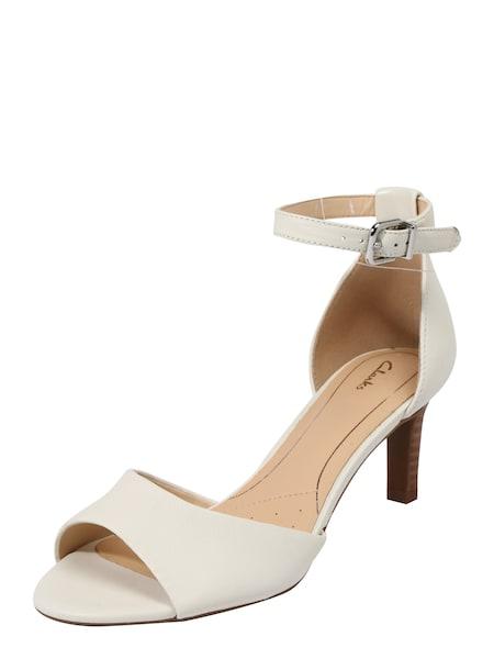 Sandalen für Frauen - Sandale 'Laureti Grace' › Clarks › offwhite  - Onlineshop ABOUT YOU