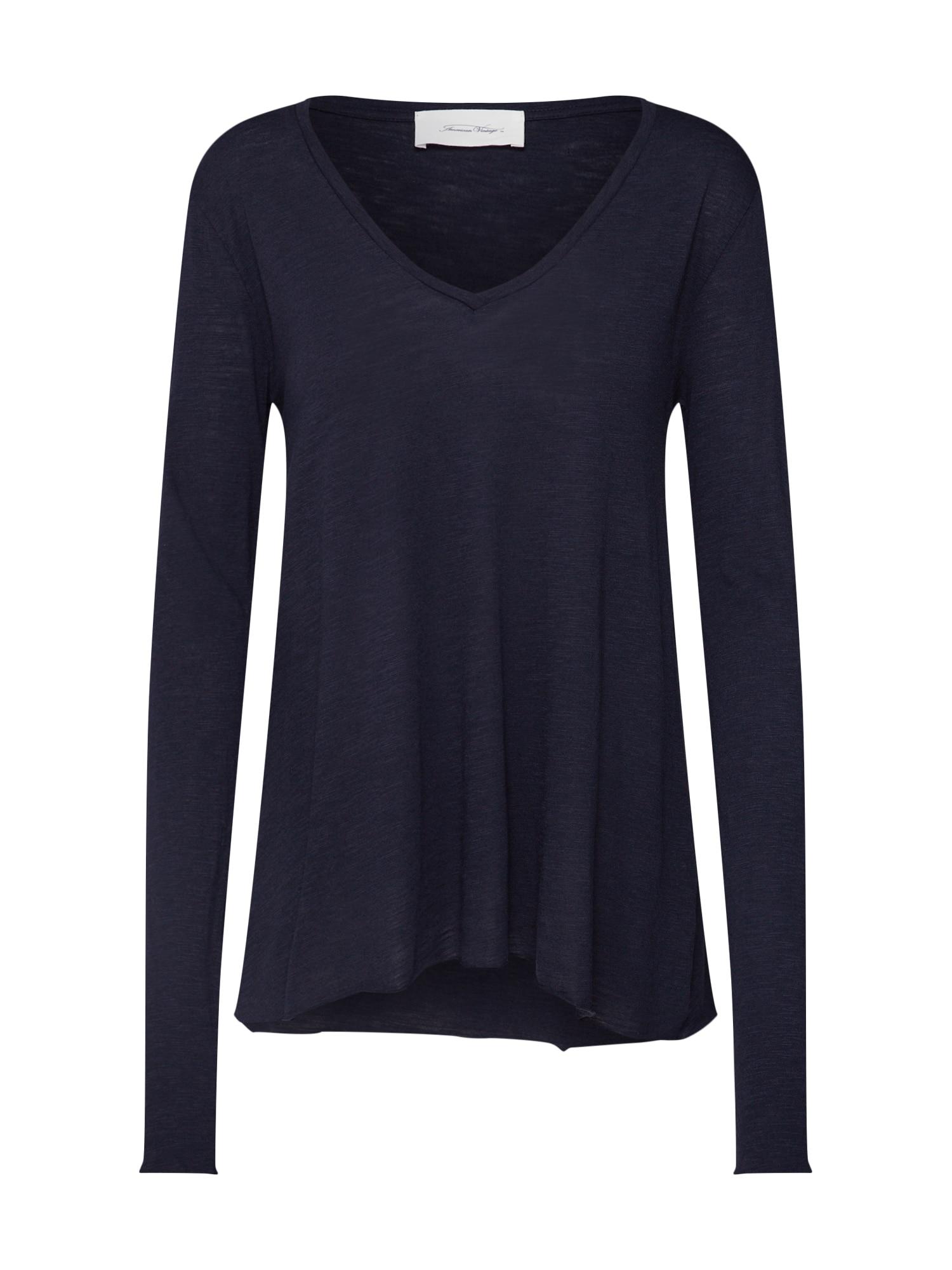 AMERICAN VINTAGE Marškinėliai tamsiai mėlyna