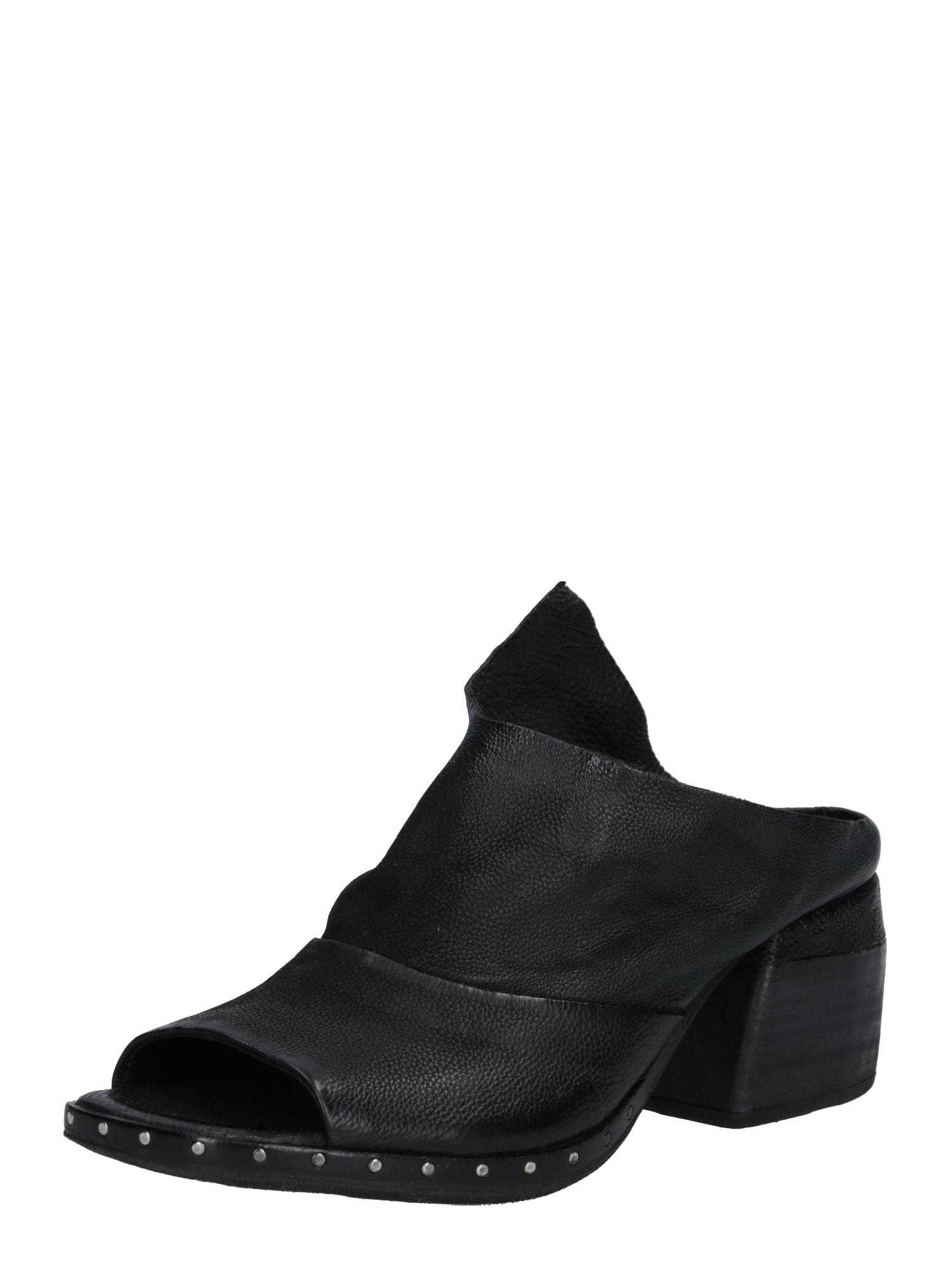 Pantofle ACAPULCO černá A.S.98