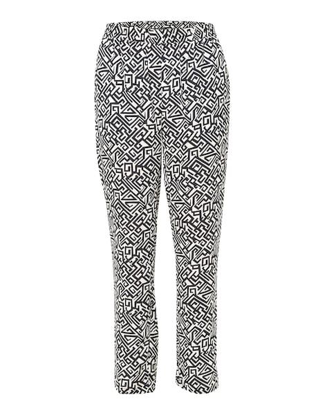 Hosen für Frauen - JETTE Hose mit All Over Print 'Alva' dunkelblau weiß  - Onlineshop ABOUT YOU