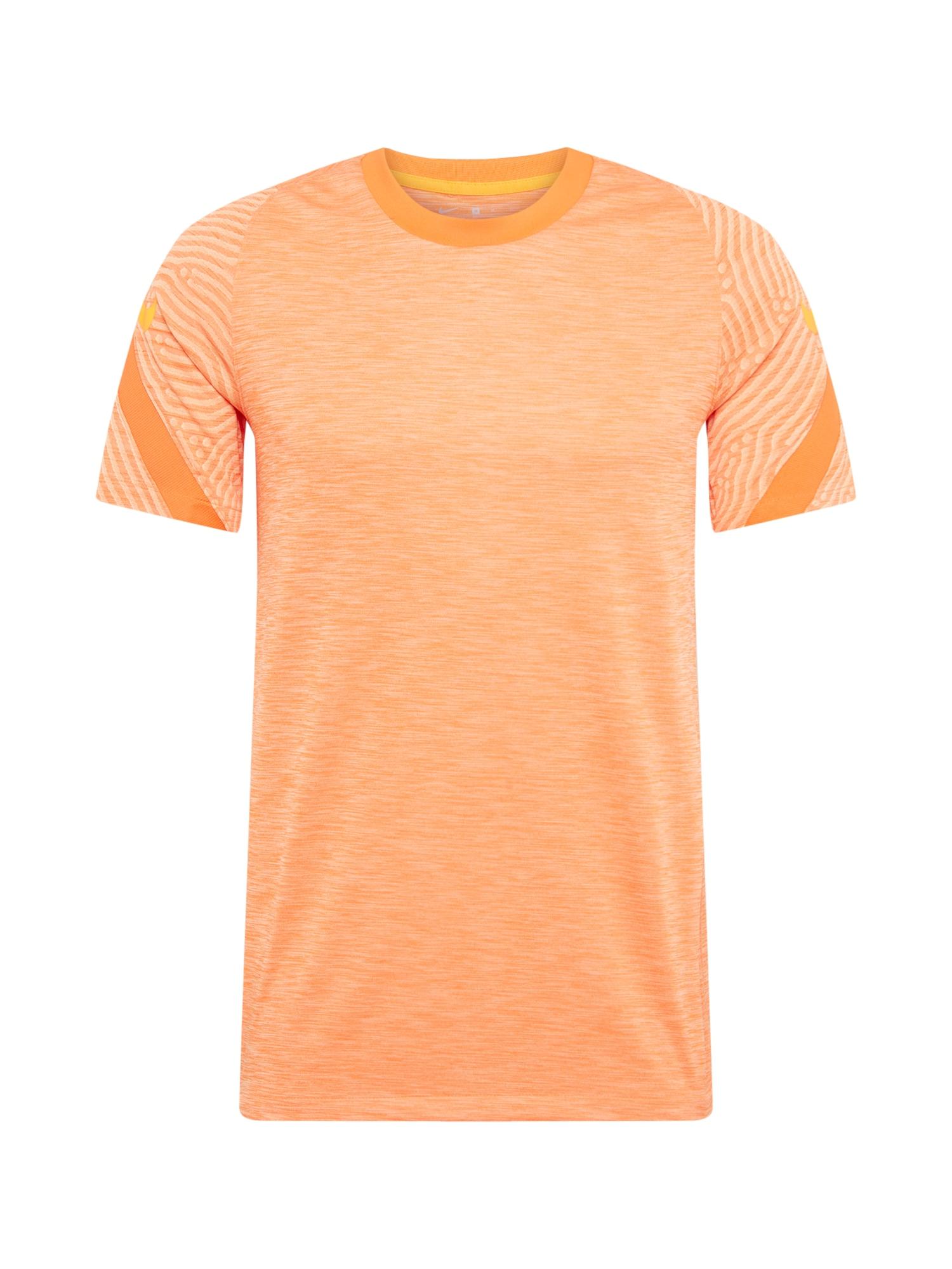 NIKE Funkční tričko  růžová / oranžová