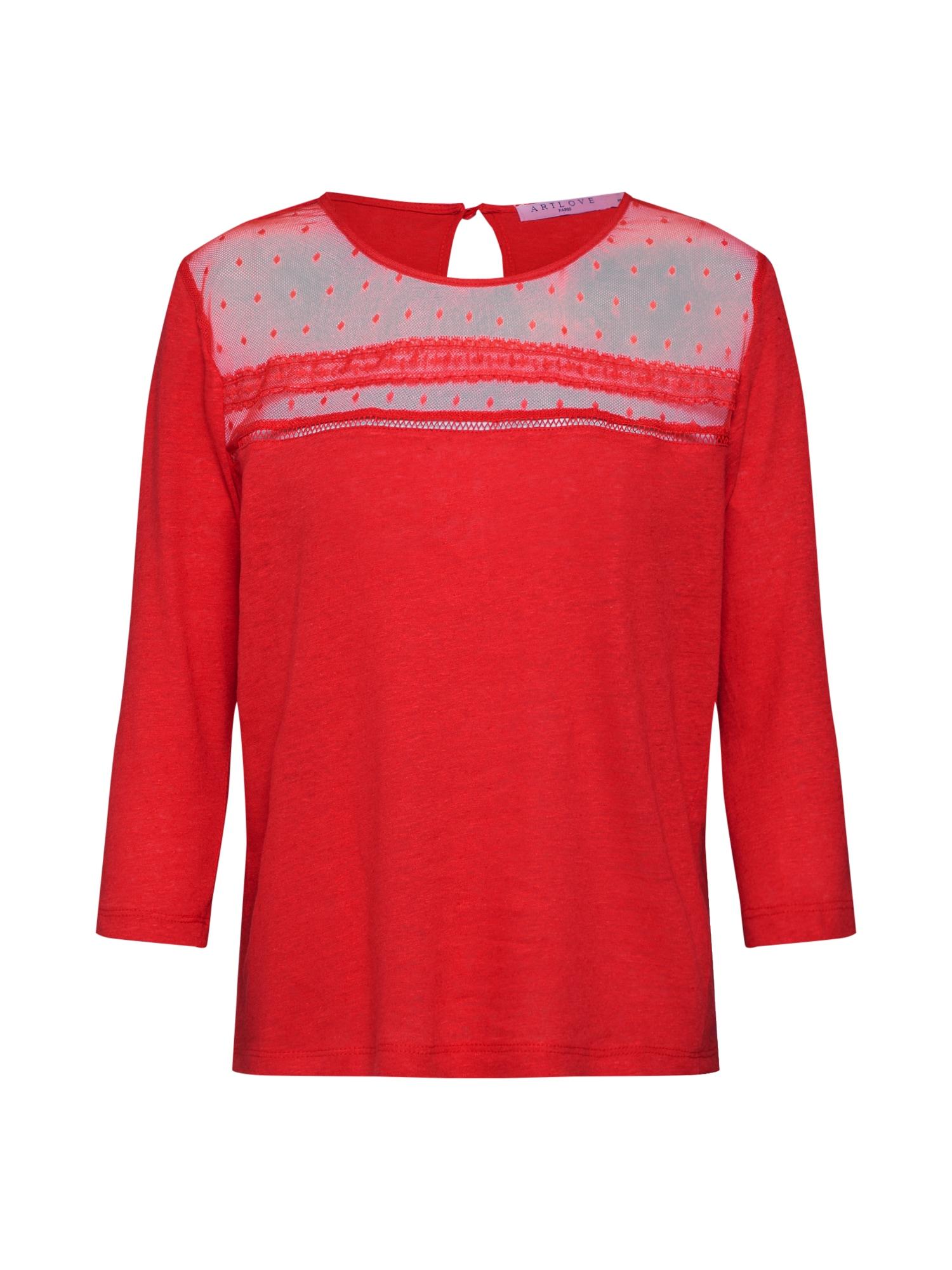 Tričko 36151 červená ARTLOVE Paris