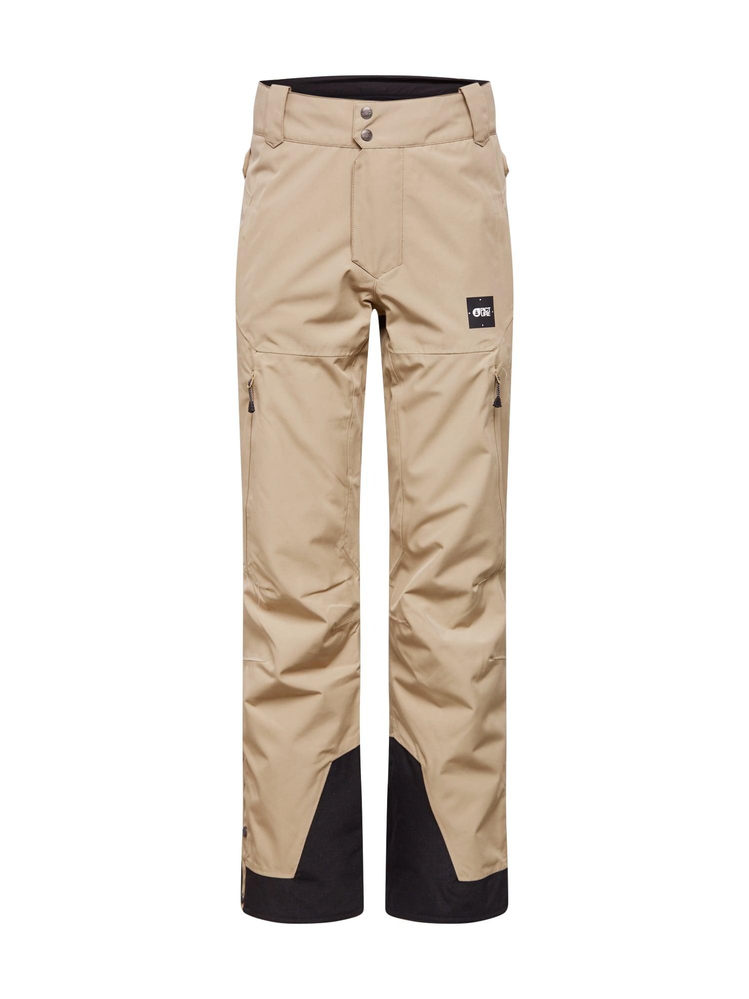 Picture Organic Clothing Sportinės kelnės tamsiai mėlyna jūros spalva / pilka
