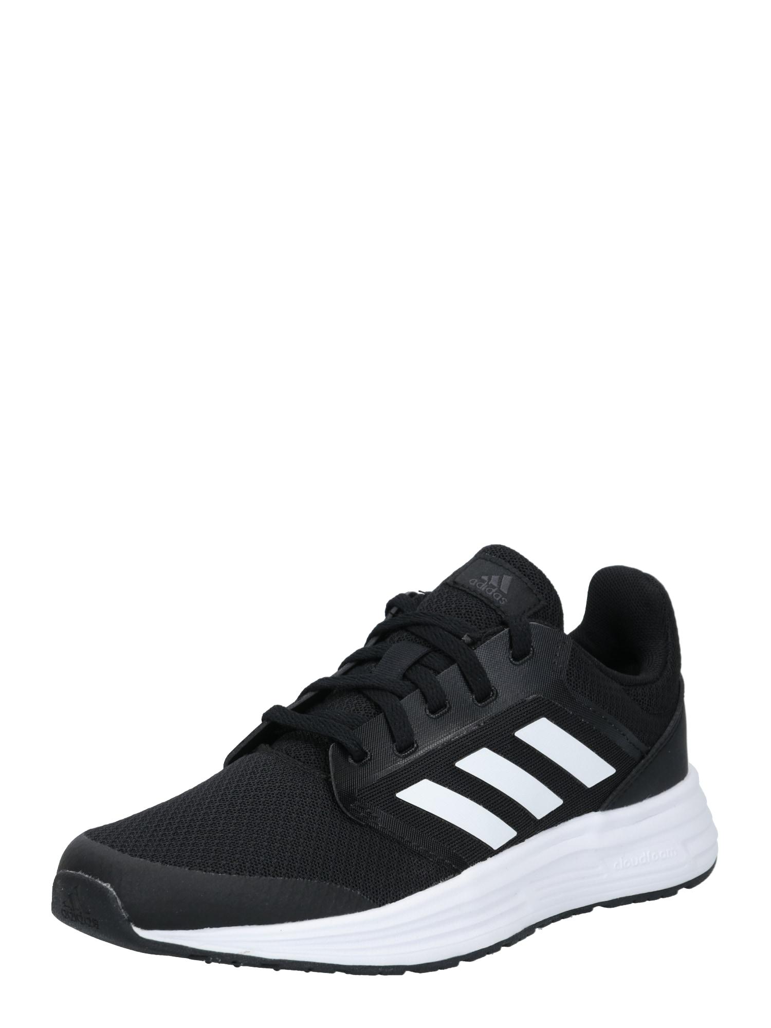 ADIDAS PERFORMANCE Sportovní boty 'GALAXY 5'  černá / bílá