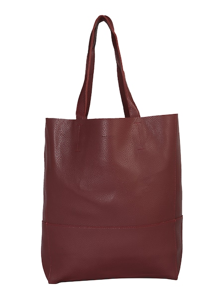 Shopper für Frauen - Mae Ivy Tasche 'Porter Fall Basic Shopper' bordeaux  - Onlineshop ABOUT YOU