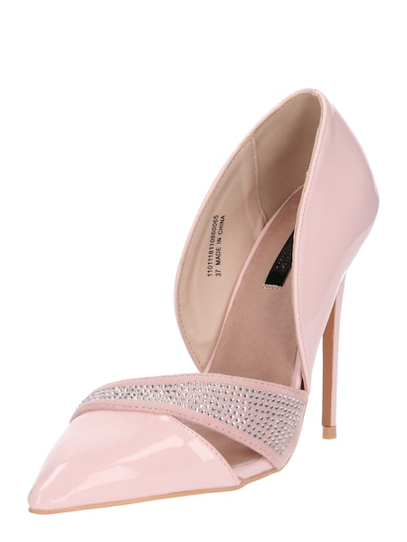 Highheels für Frauen - Lost Ink High Heels 'HOTFIX DETAIL COURT' rosa  - Onlineshop ABOUT YOU