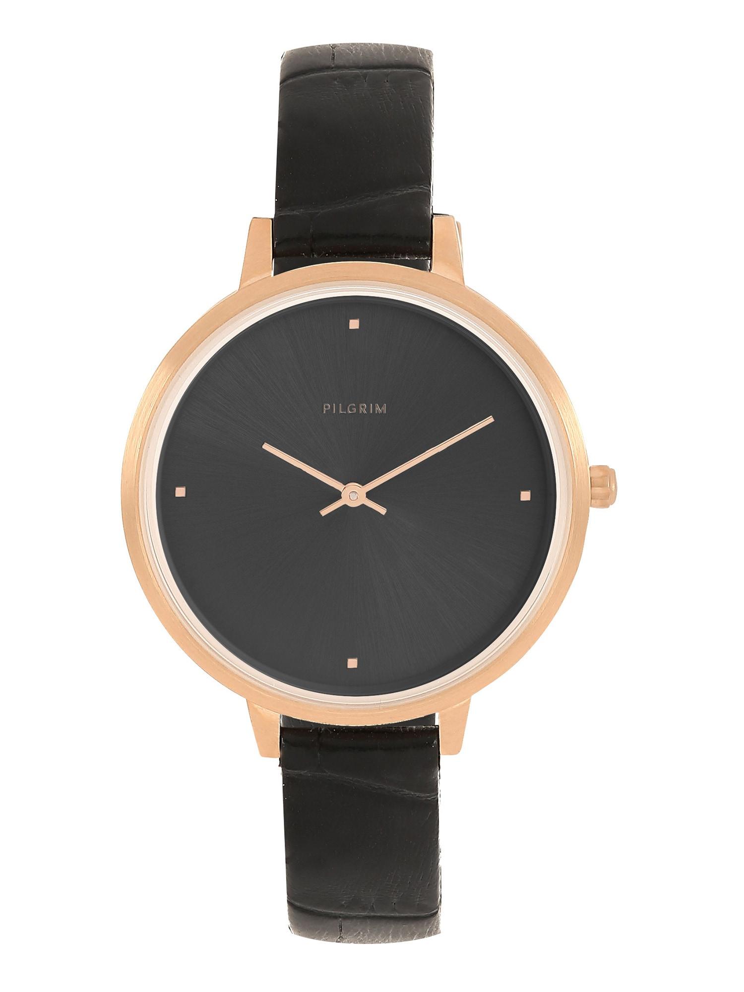 Analogové hodinky Brooke bronzová černá Pilgrim