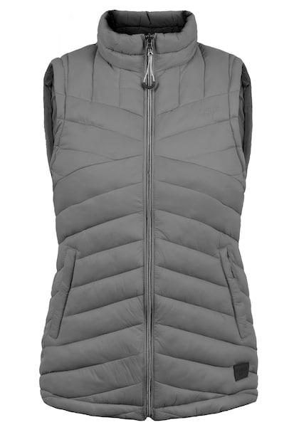 Jacken für Frauen - Desires Steppweste grau  - Onlineshop ABOUT YOU