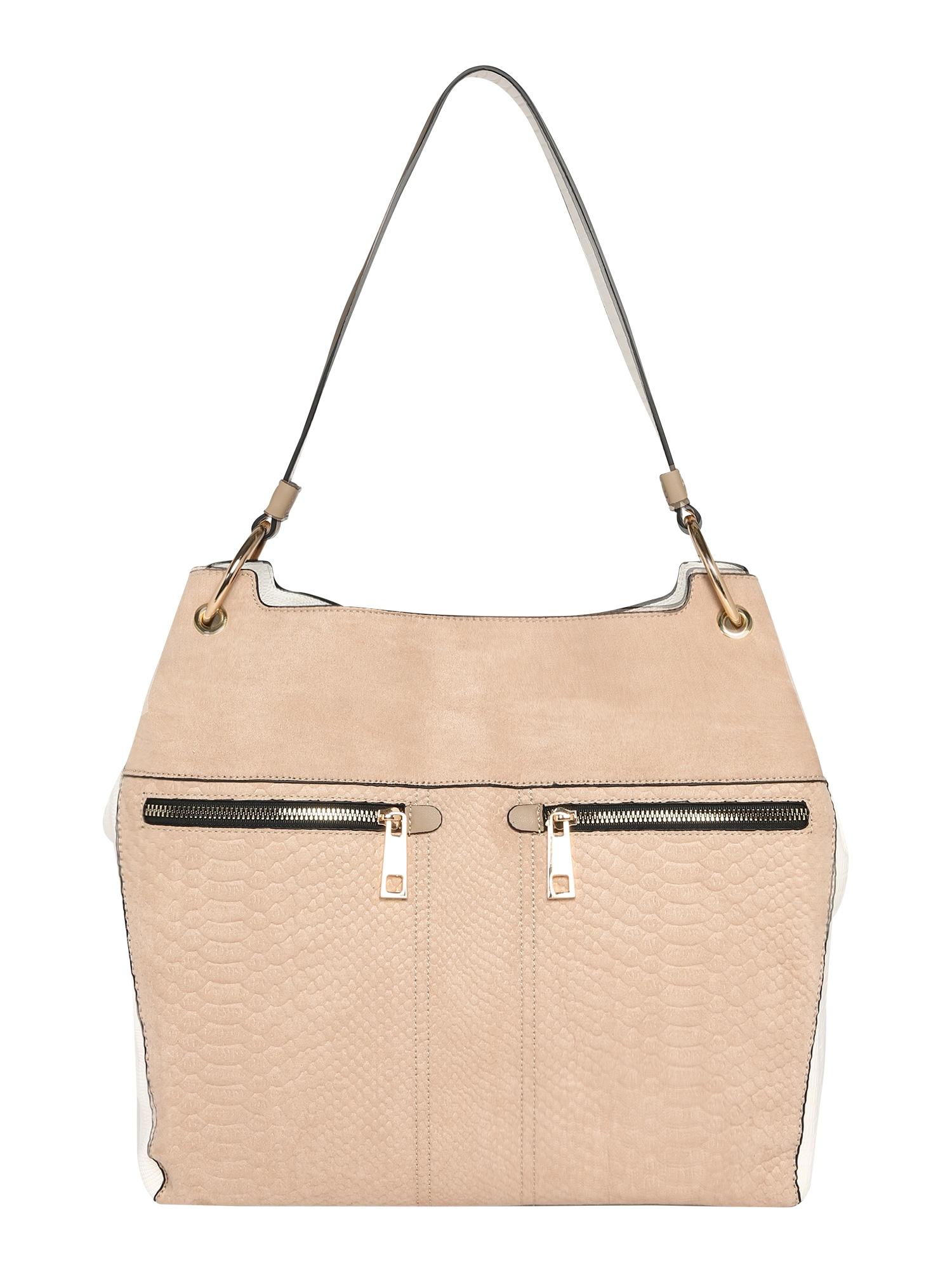 Dorothy Perkins Nákupní taška  krémová