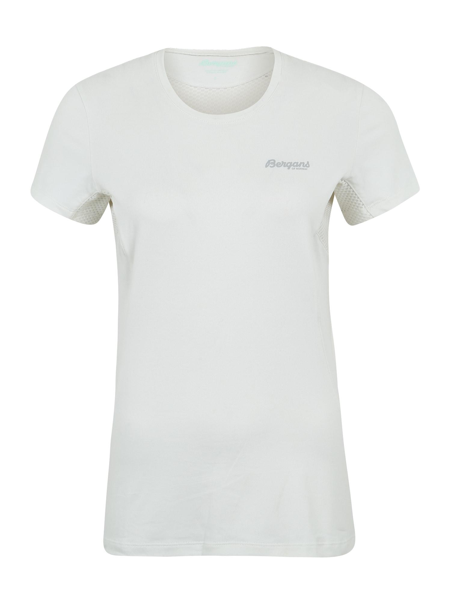 Bergans Sportiniai marškinėliai 'Fløyen W Tee' balta