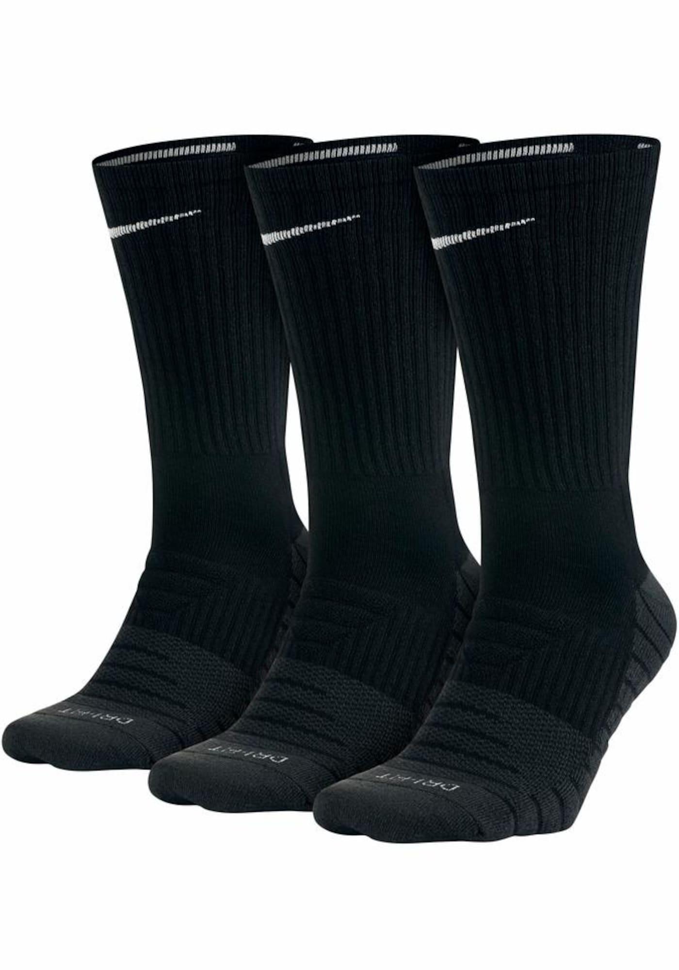 NIKE Sportinės kojinės juoda