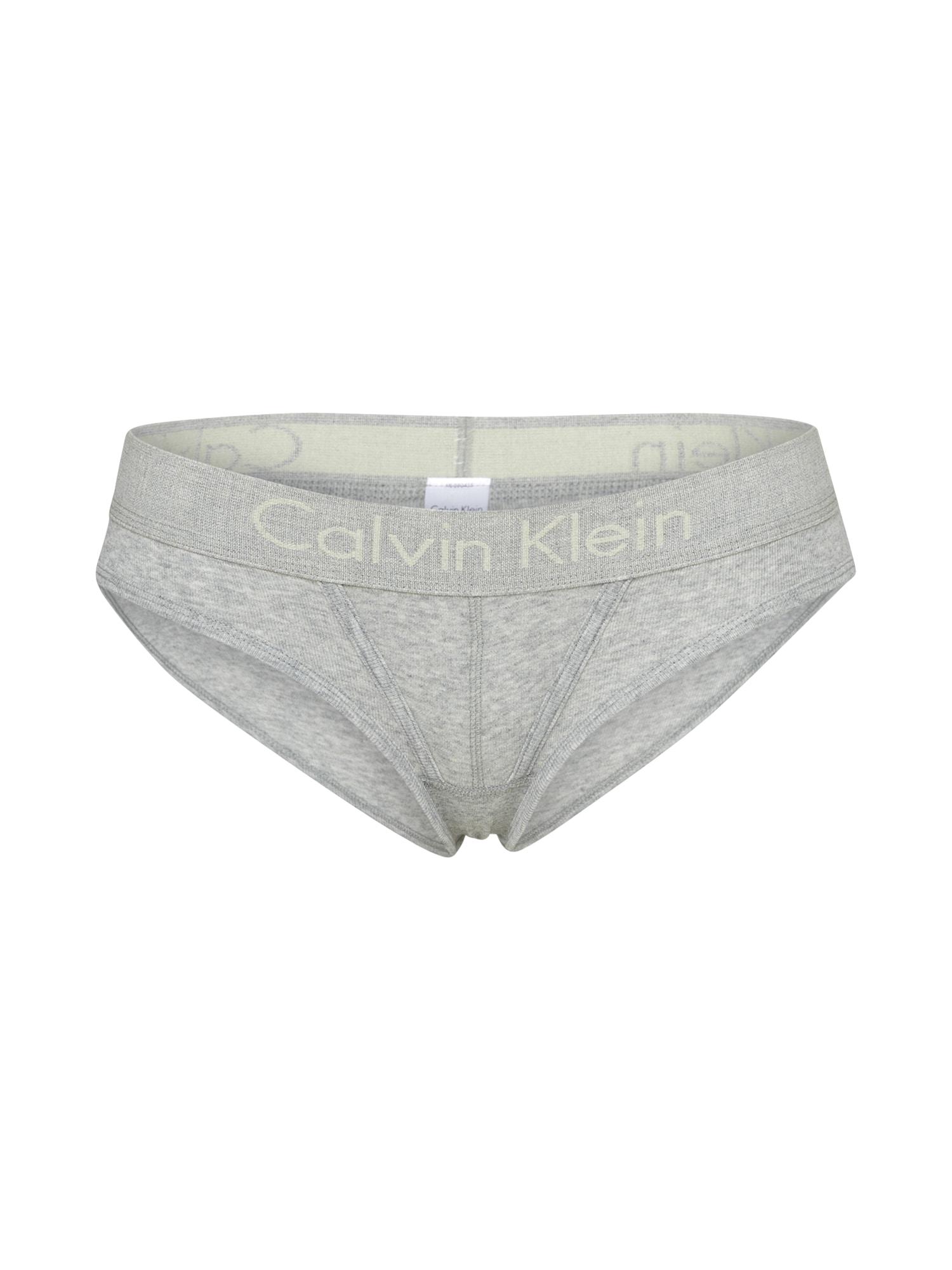 Kalhotky BIKINI šedá Calvin Klein Underwear