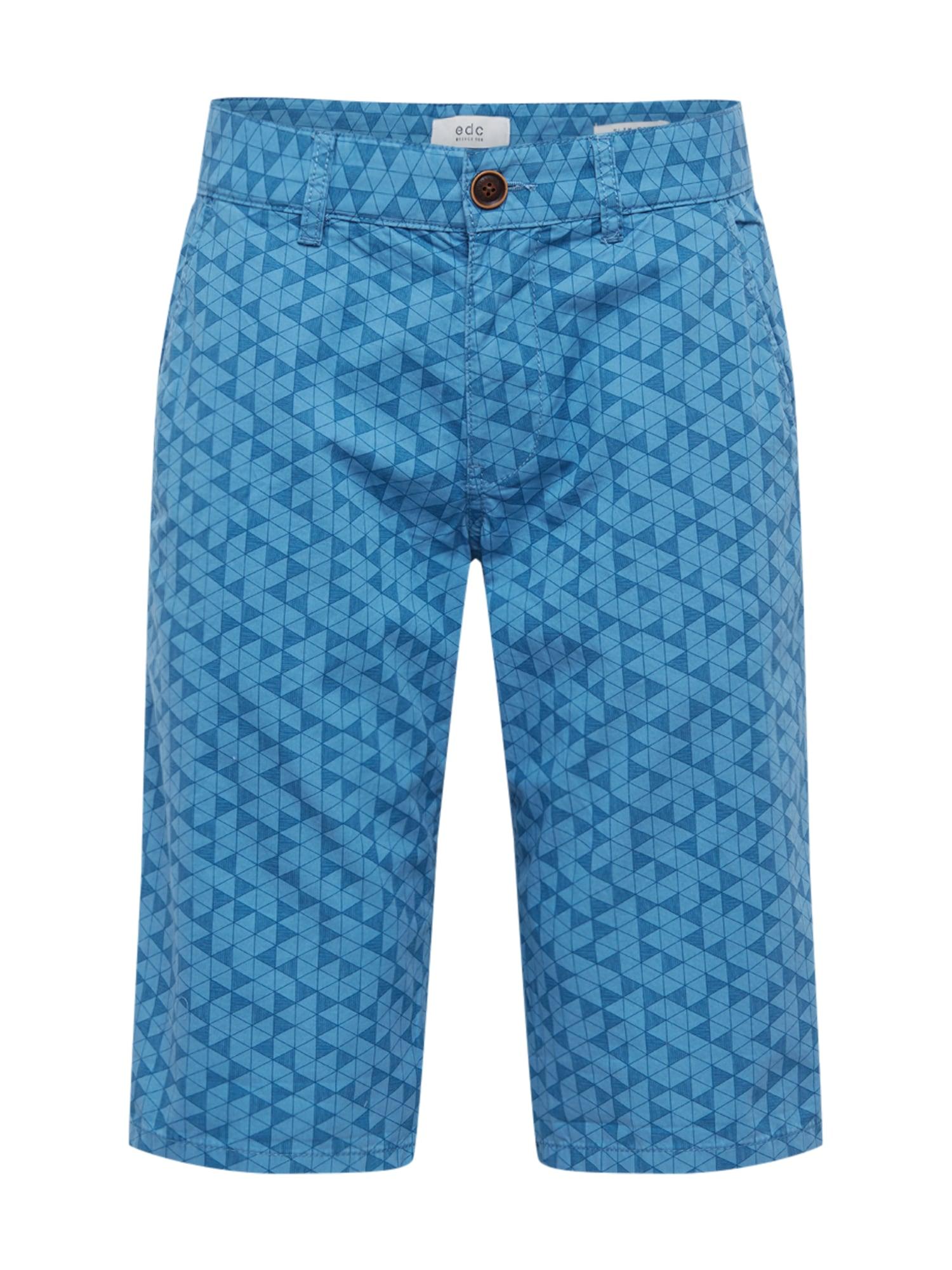 Chino kalhoty královská modrá EDC BY ESPRIT