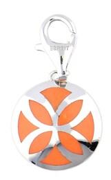 Esprit Damen Charm Flora Pacific orange,silber | 04891945380991