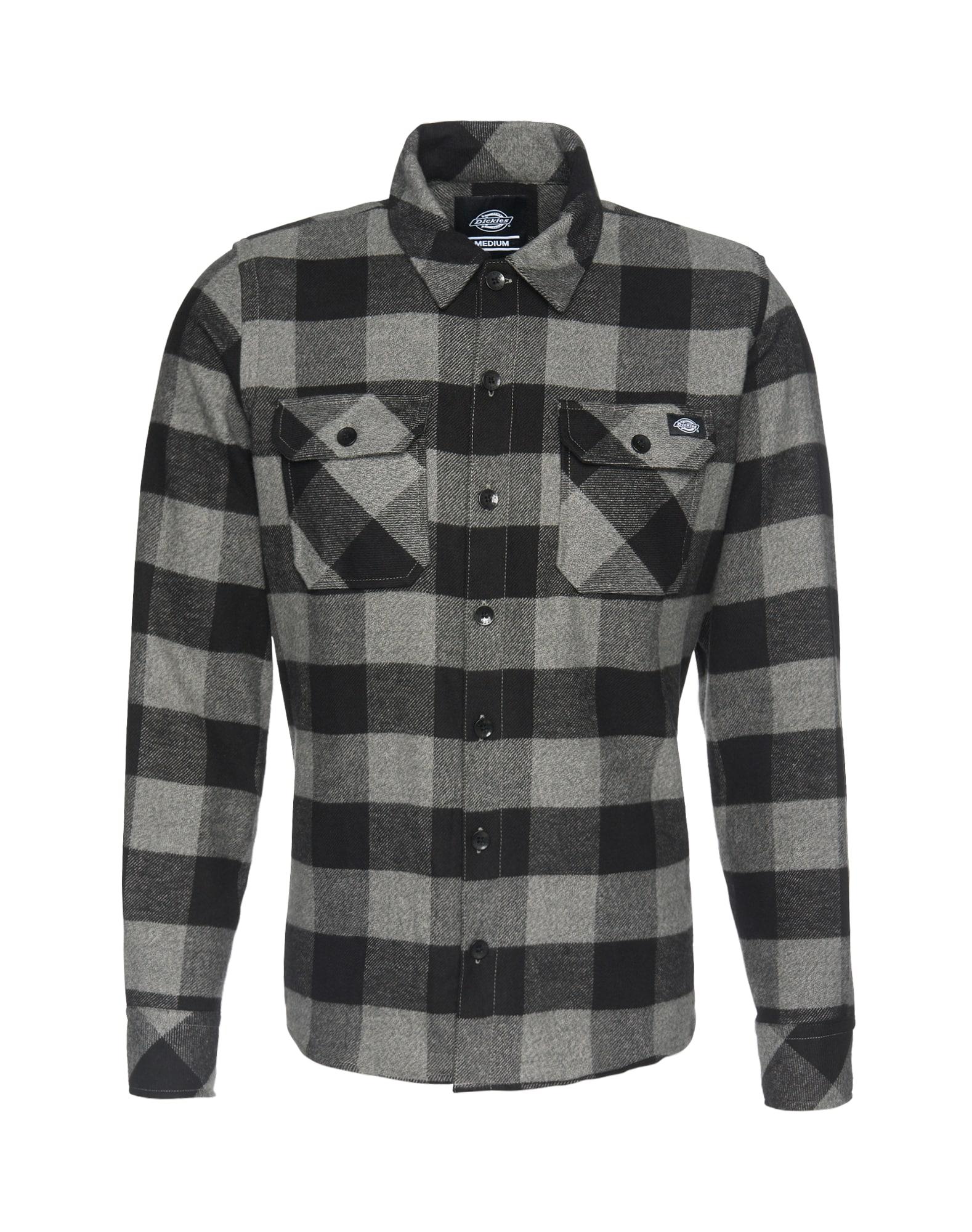 Košile Sacramento šedý melír černá DICKIES