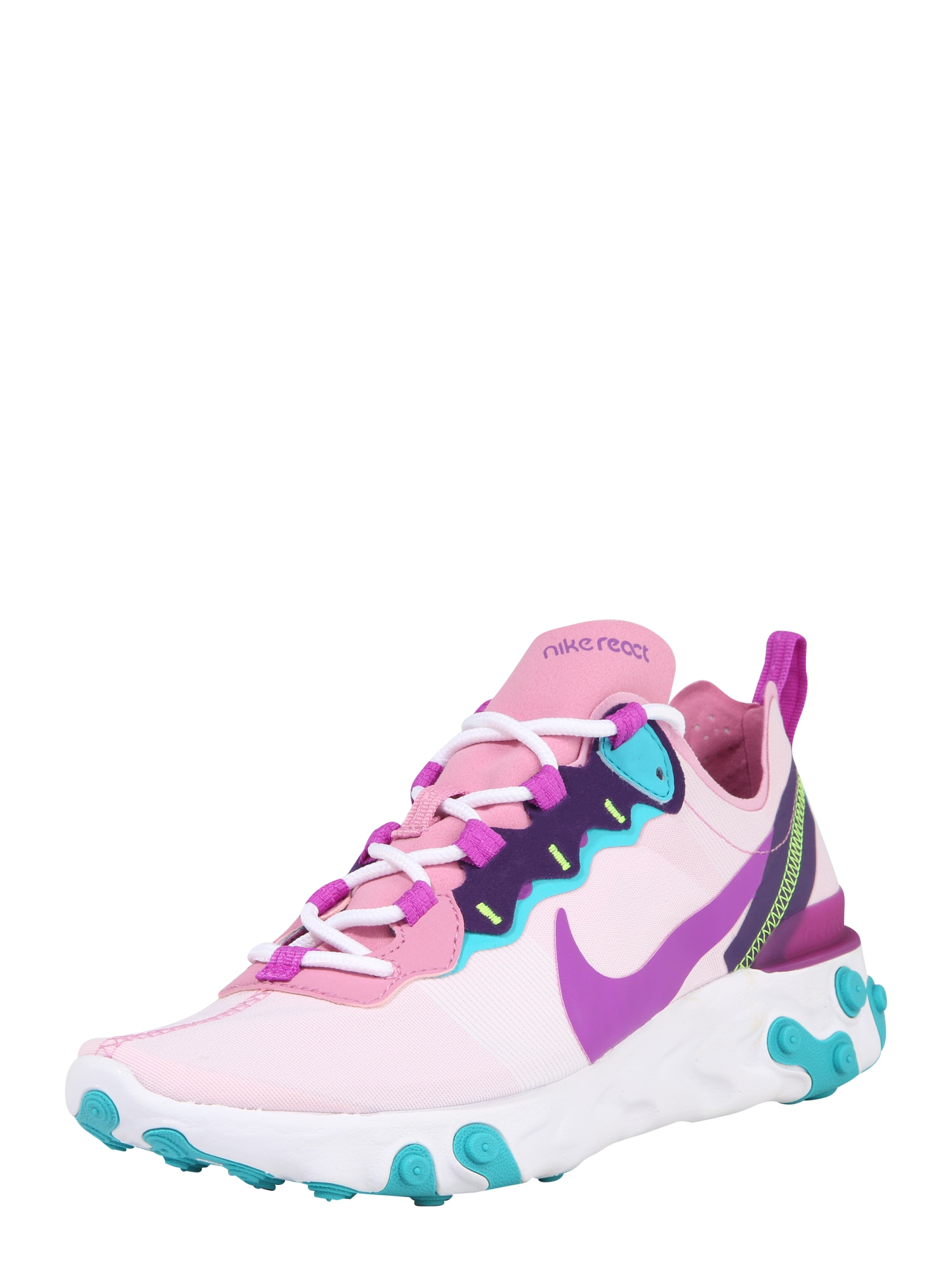 Nike Sportswear Bežecká obuv 'Nike React Element 55'  ružová / zmiešané farby