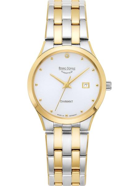 Uhren für Frauen - Bruno Söhnle Uhr 'Florenz 17 23197 252' gold silber weiß  - Onlineshop ABOUT YOU