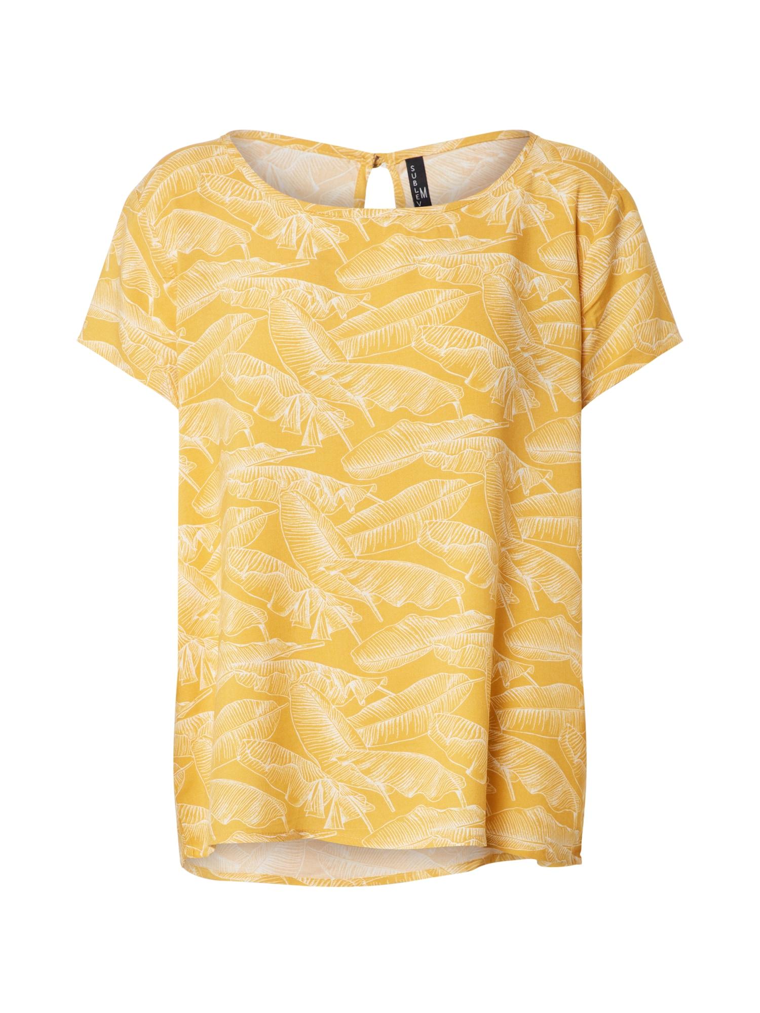 Sublevel Palaidinė aukso geltonumo spalva