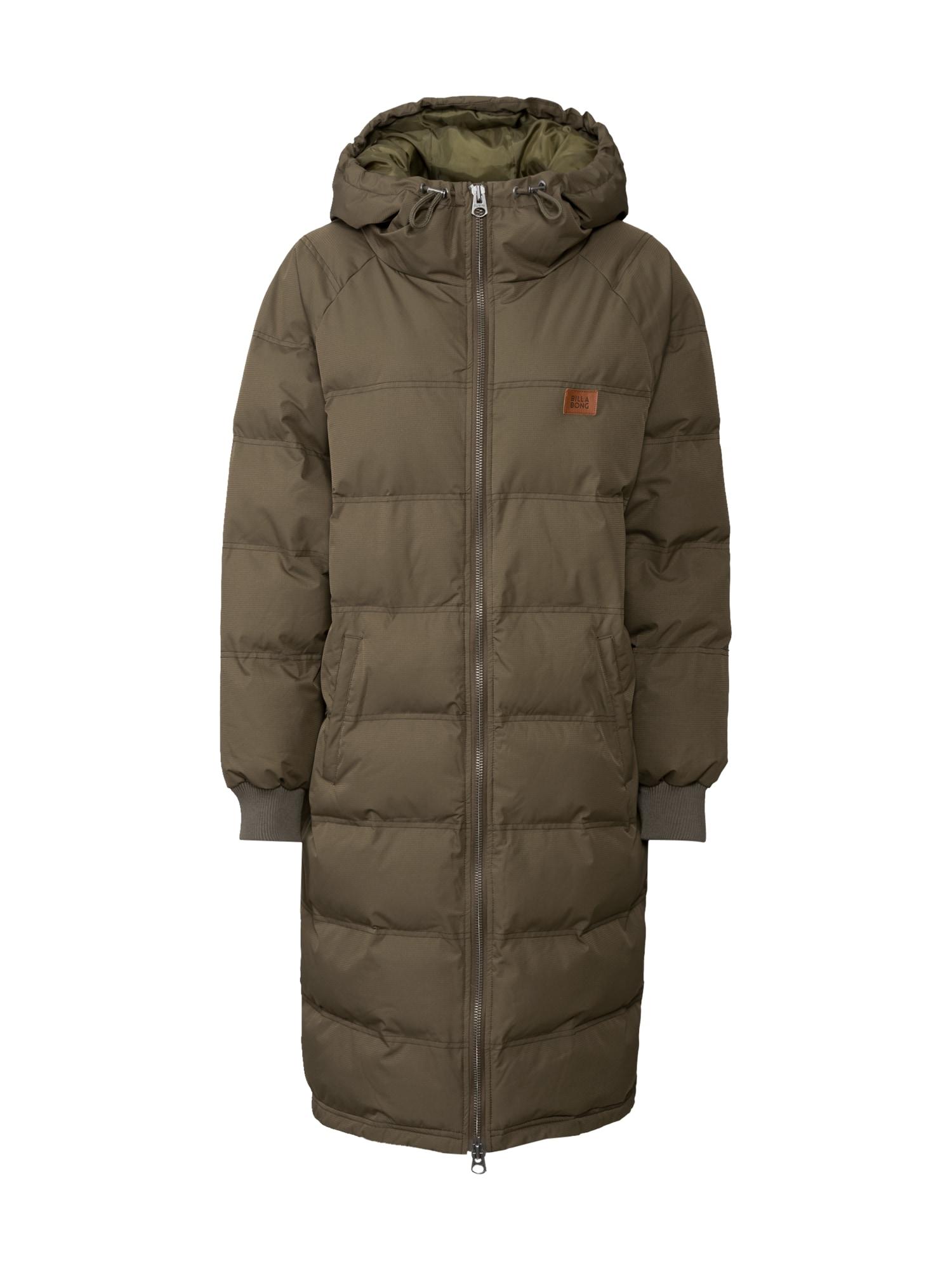 BILLABONG Žieminis paltas 'Northern' alyvuogių spalva