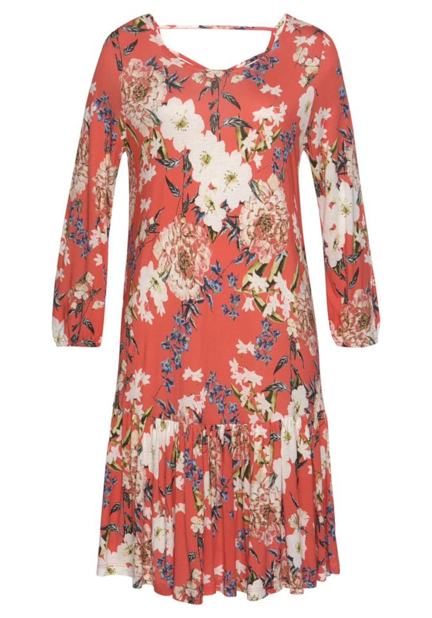 s.Oliver Paplūdimio suknelė koralų splava / rožių spalva