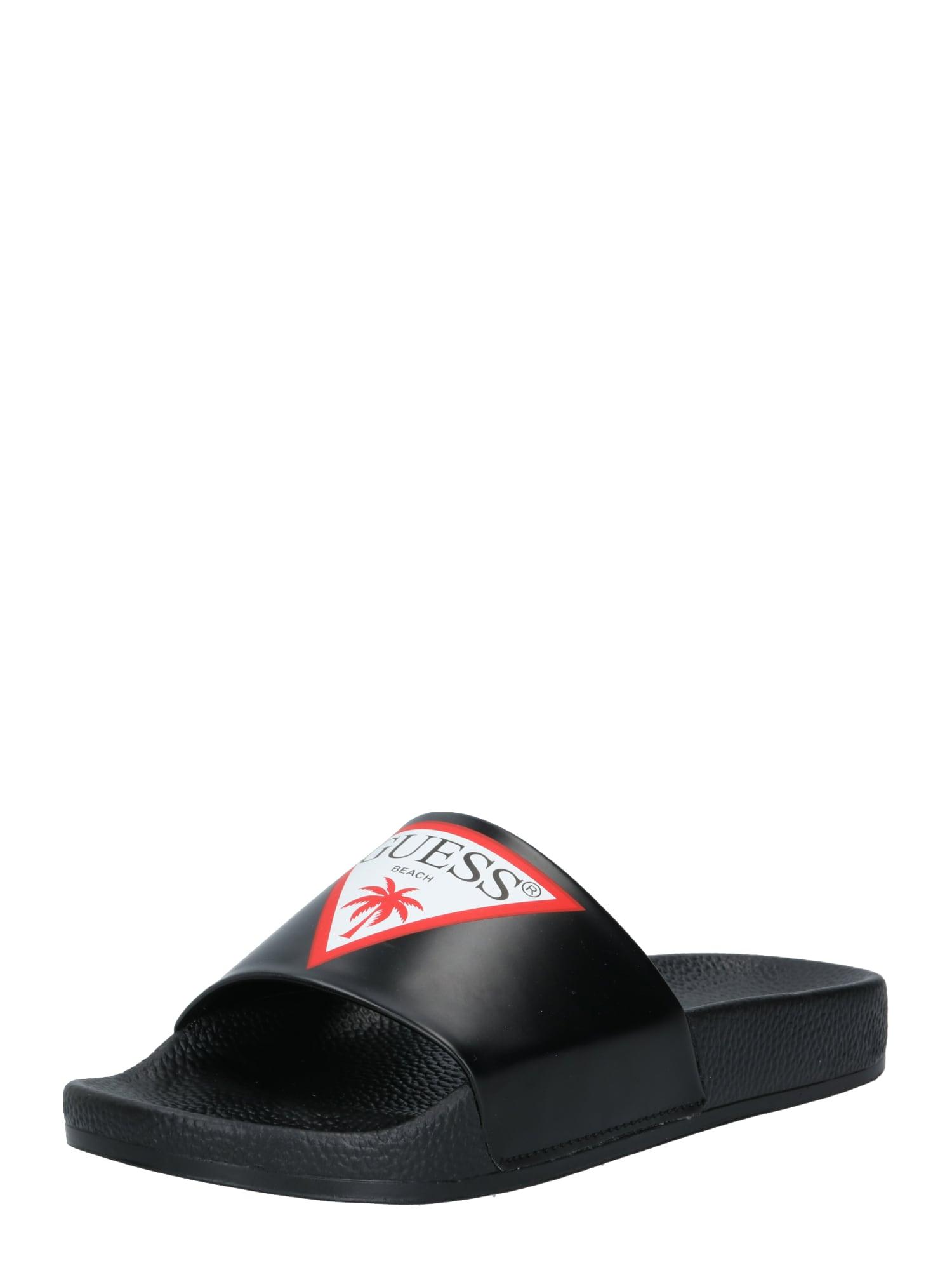 GUESS Flip-flops 'Slides'  negru