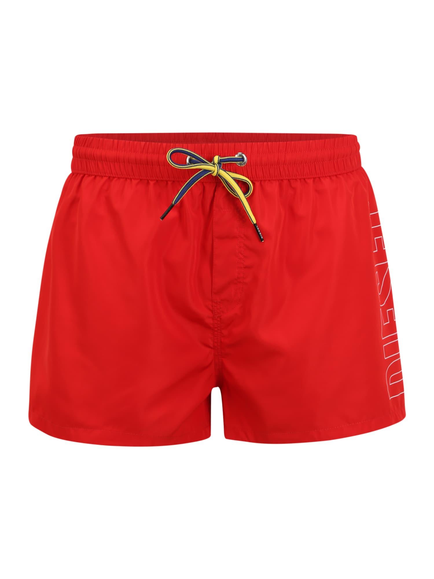 DIESEL Maudymosi šortai 'BMBX-SANDY' raudona
