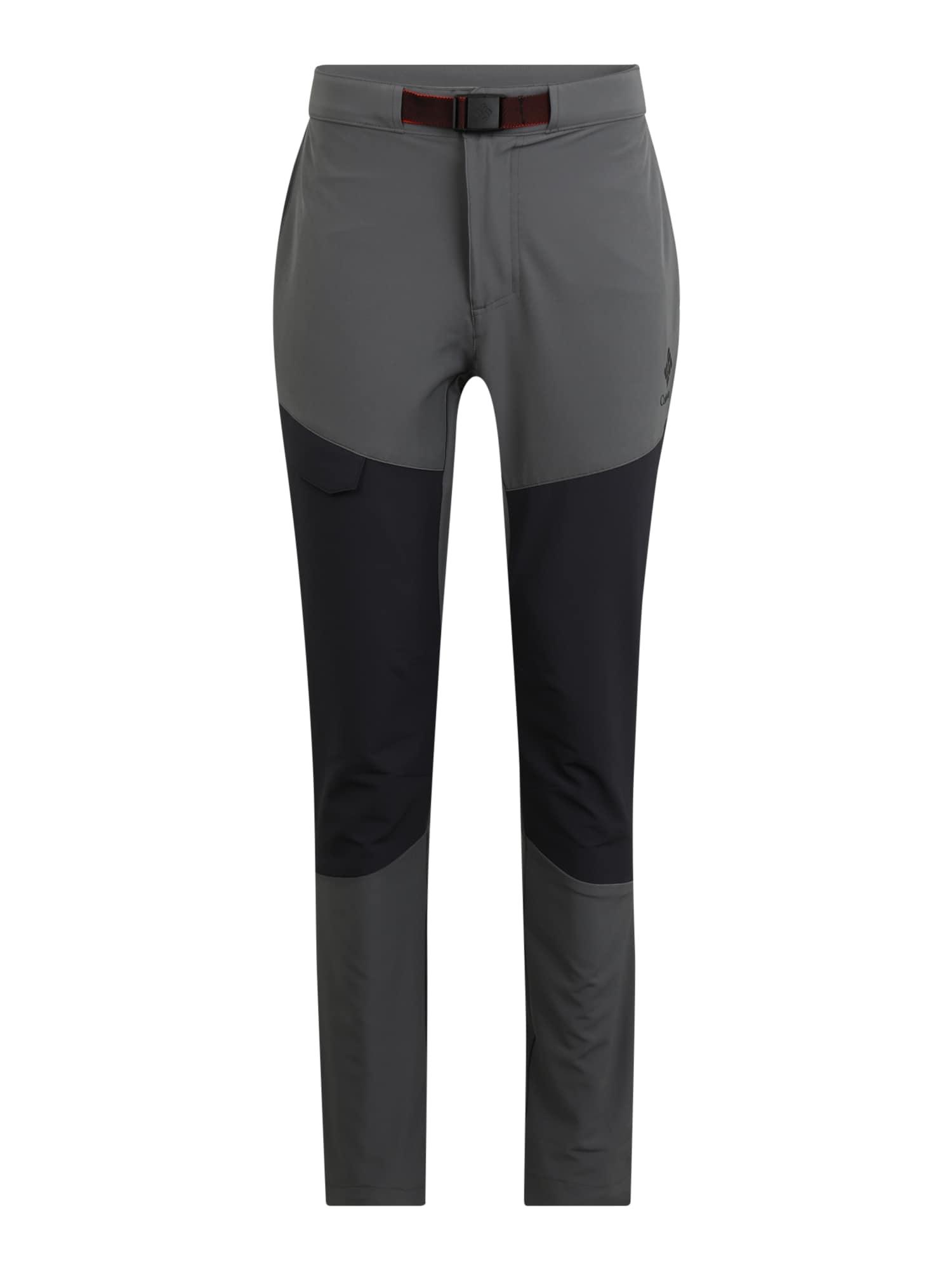COLUMBIA Sportinės kelnės 'Maxtrail' tamsiai pilka