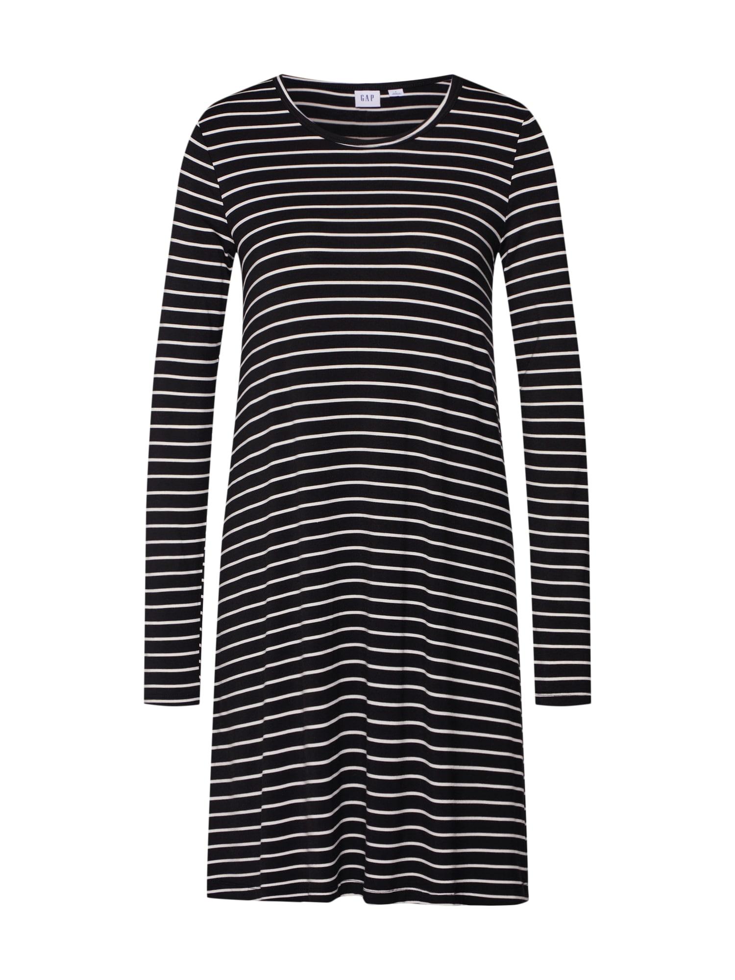 Šaty černá bílá GAP