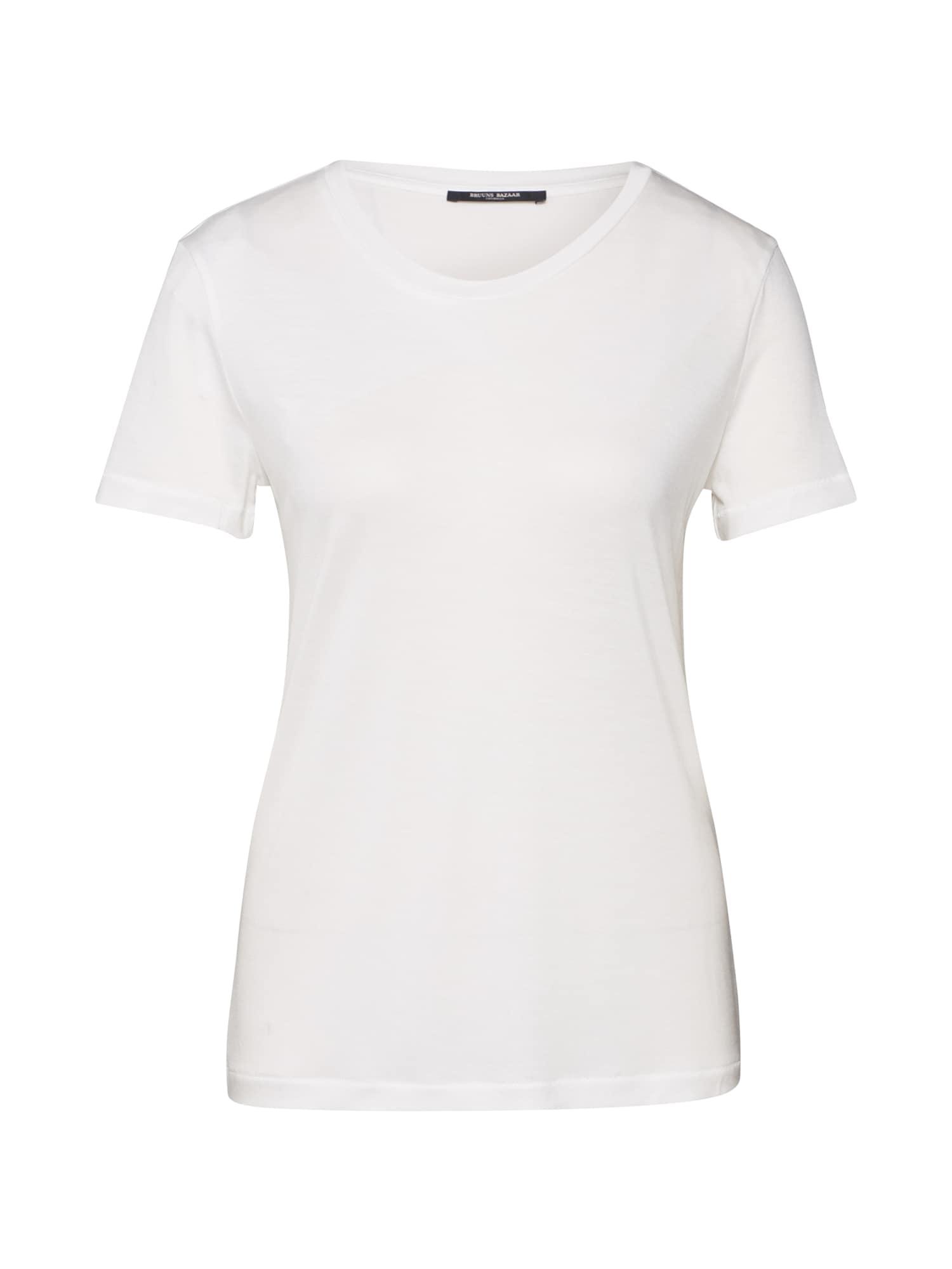 BRUUNS BAZAAR Marškinėliai balta