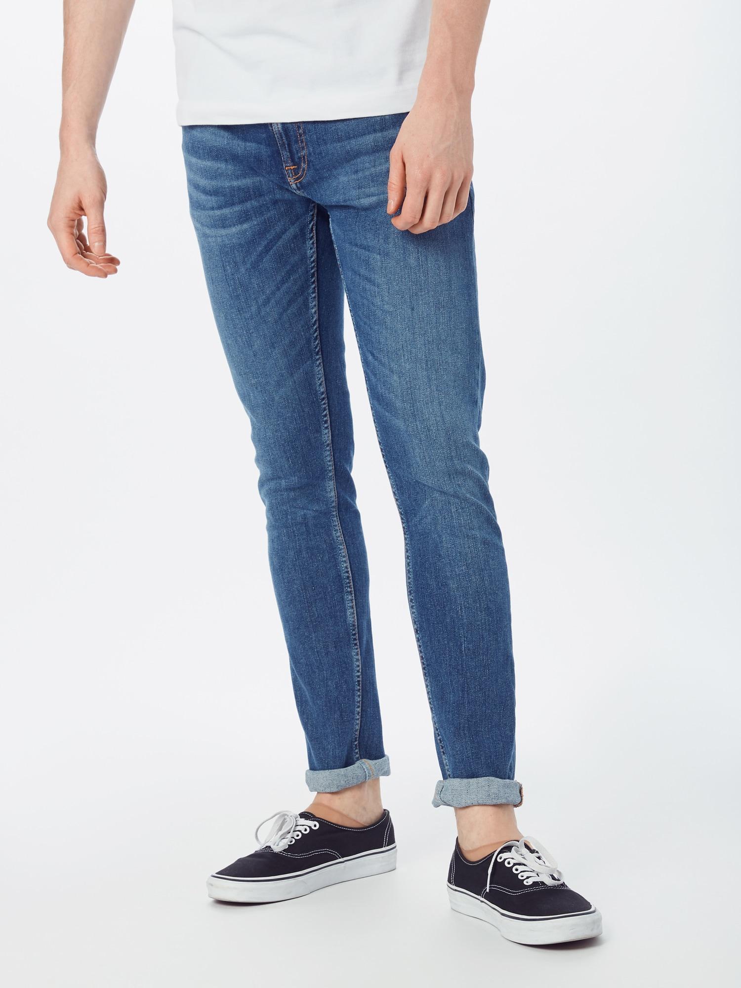 Nudie Jeans Co Jeans  blå denim