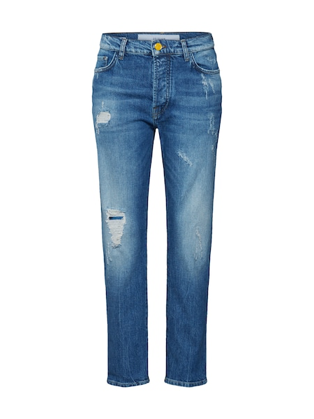 Hosen - Jeans 'Augusta Relaxed Fit' › Goldgarn › blau  - Onlineshop ABOUT YOU