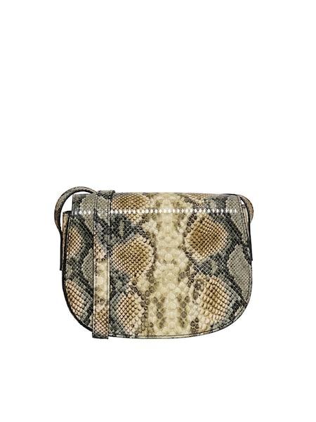 Schultertaschen für Frauen - Schlangenprint Umhängetasche › ONLY › braun dunkelgelb dunkelgrau khaki  - Onlineshop ABOUT YOU